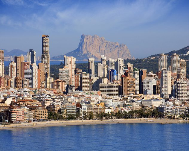 City view of Alicante, headquater for International Mechanical engineering job